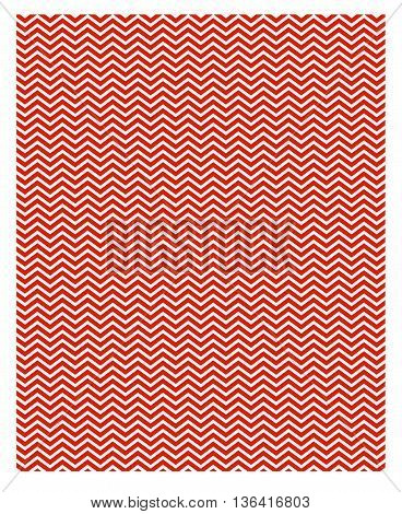 Chevron pattern pattern red zigzag striped white design retro
