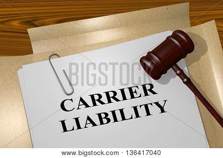 Carrier Liability Legal Concept
