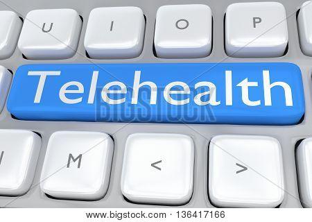 Telehealth - Remote Service Concept
