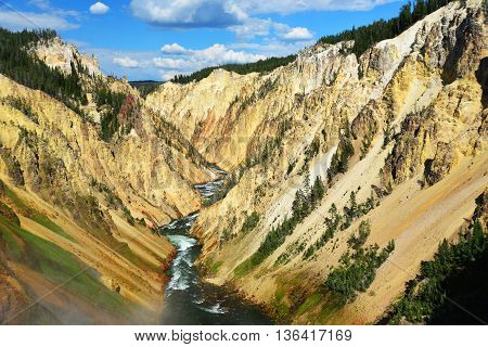 Grand Canyon Of The Yellowstone National Park