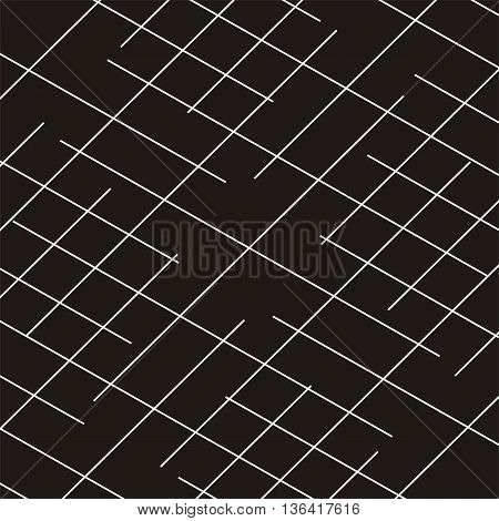 Diagonal striped geometric black background pattern tracery material textile