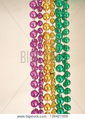 Mardi Gras Beads From New Orleans' Parades