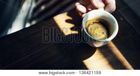 Coffee Caffeine Cheers Beverage Leisure Refresh Concept
