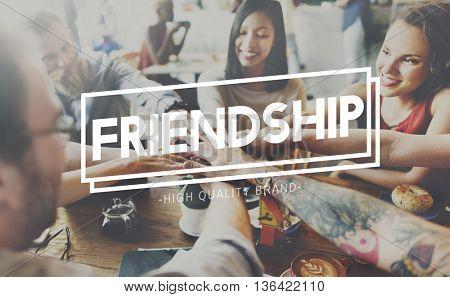 Friendship Friends Partnership Relationship Concept