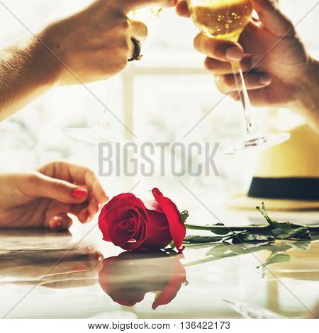 Couple Romance Love Dating Concept