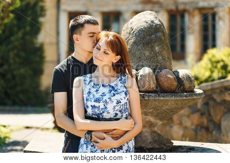 Nice Couple In Love