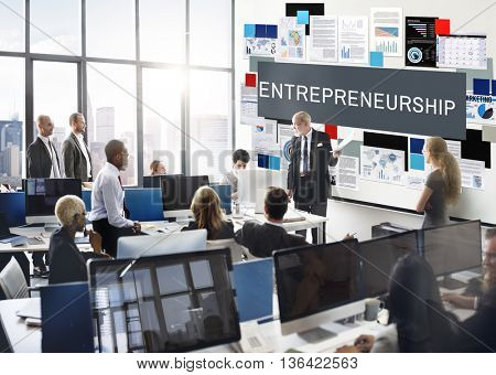 Business Marketing Documents Strategy Planning Concept