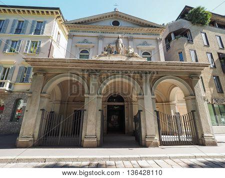 Santa Maria Della Consolazione Church In Milan
