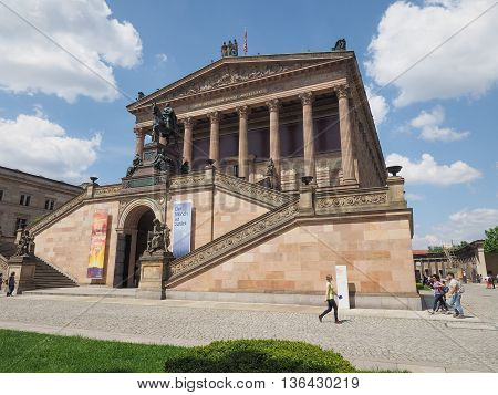 Alte National Galerie In Berlin