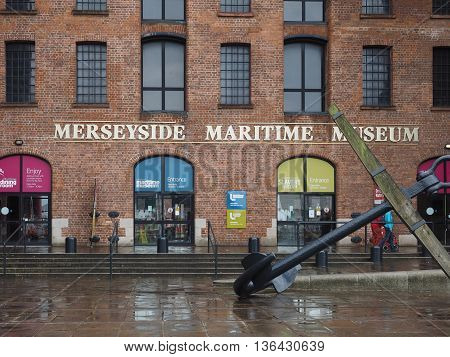 Merseyside Maritime Museum In Liverpool