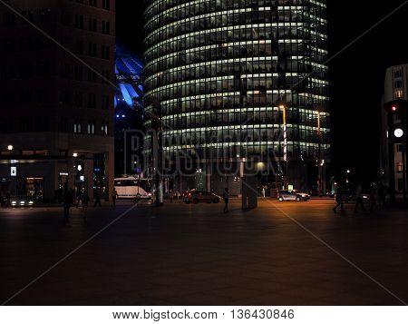 Bahn Tower In Berlin