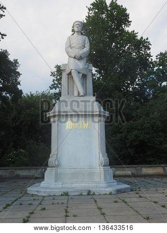 Moltke Statue In Berlin