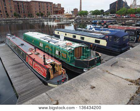 Albert Dock And Salthouse Dock In Liverpool