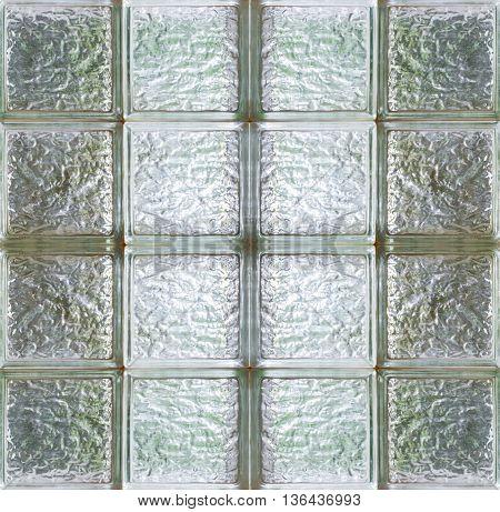 Glass block wall texture , seamless texture