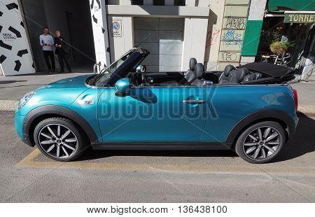 Mini Car In Milan