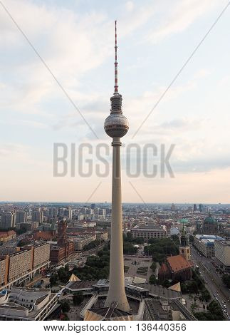 Fernsehturm (tv Tower) In Berlin