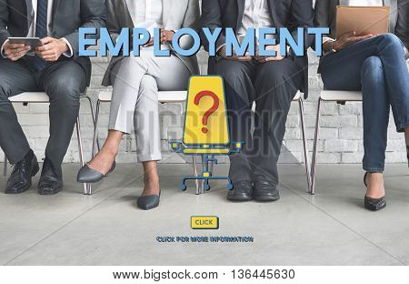 Employment Human Resources Hiring Concept
