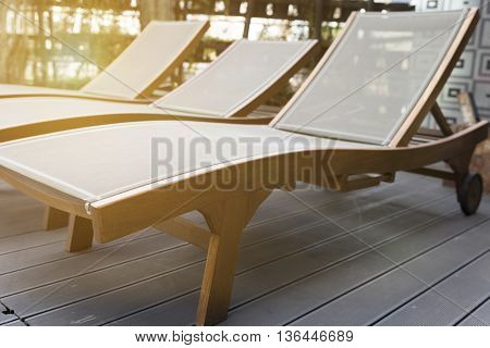 Bed Chair On Deck