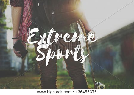 Go Extreme Sports Leisure Hobby Concept