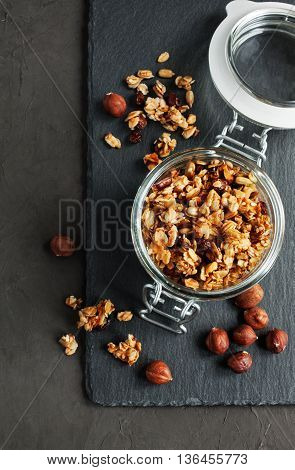 Homemade Granola With Nuts