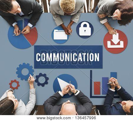Communication Networking Technology Internet Concept