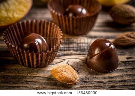 Image Of Chocolate Ball