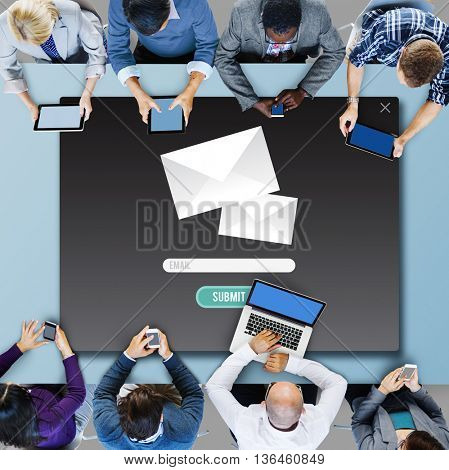 Mail E-Mail Message Information Note Concept