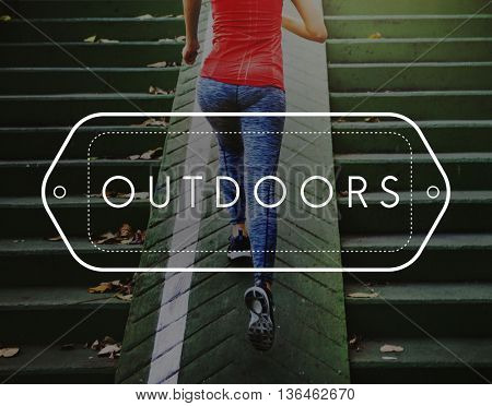 Outdoor Active Leisure Lifestyle Nature Concept