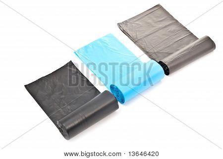 Rolled Garbage Bags