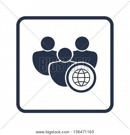 User Internet Icon In Vector Format. Premium Quality User Internet Symbol. Web Graphic User Internet