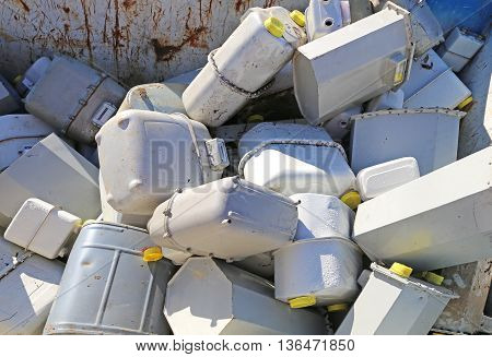 Gas Meters In The Industrial Landfill Methane