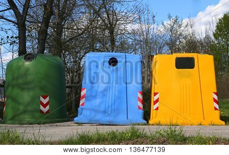 Bins For Waste Paper Collection