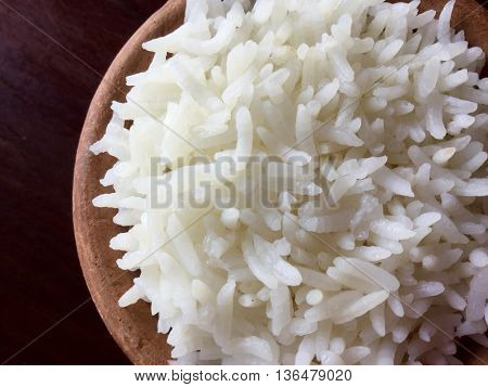This is wholegrain rice cooked in boiling