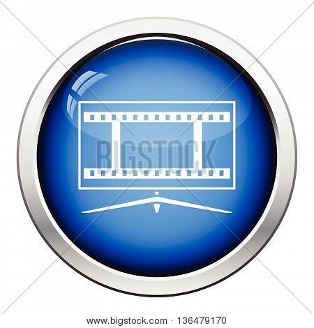 Cinema Tv Screen Icon