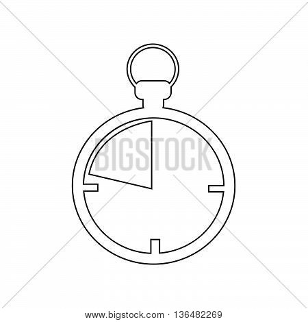 an images of Chronometer icon Illustration design