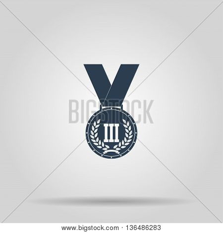 Medal icon. Vector concept illustration for design.