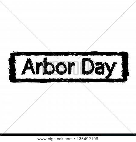 an Images of arbor day Illustration design