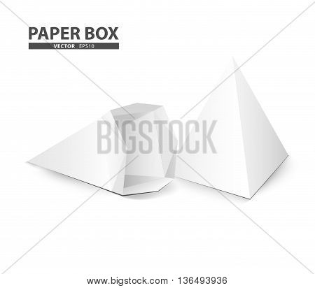 creative package design cone shape isolate on white background (Vector eps10)
