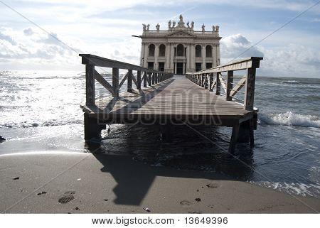 Surrealism. St John's Basilica