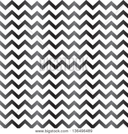 black gradient chevron seamless pattern background vector illustration image with gradient style and look glossy