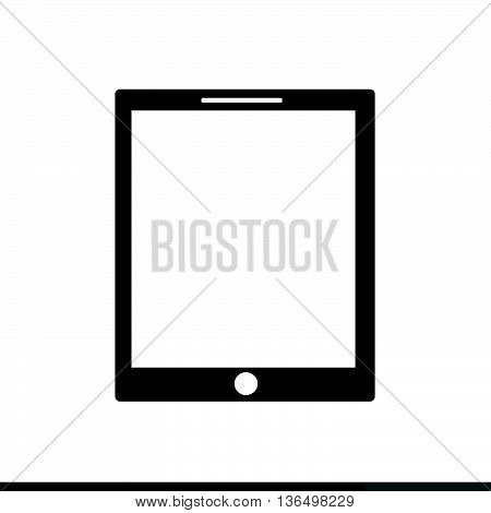 an images of Tablet Icon Illustration design