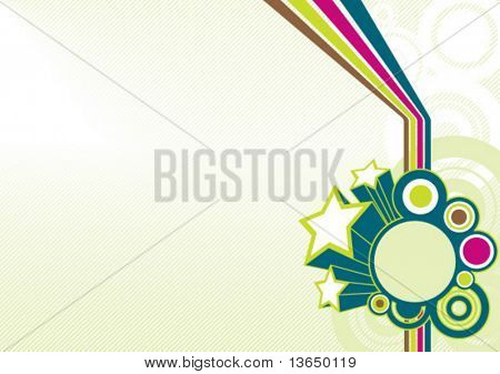 retro background. vector