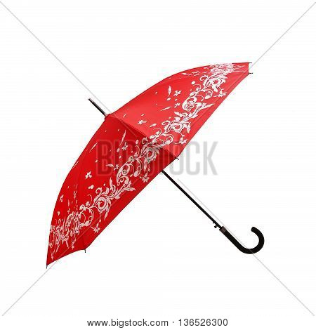 Opened Umbrella isolated on a white background