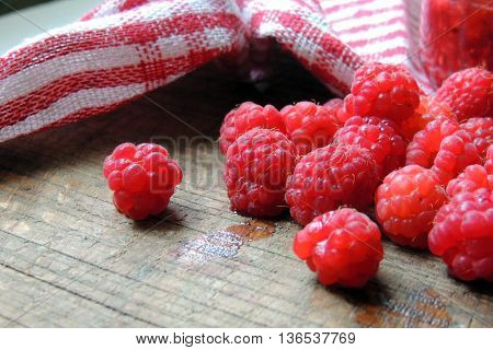 Raspberry On The Board