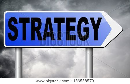 strategy for business and marketing used method and plan