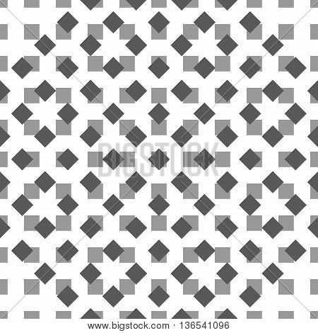 Vector seamless black white pattern. Vector seamless texture. Modern geometric design. Minimal design background. Intelligent design