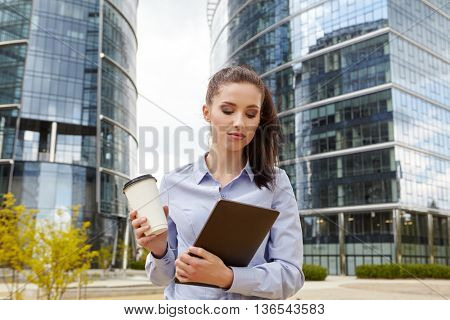 Young businesswoman female student is resting after reading electronic book on digital tablet
