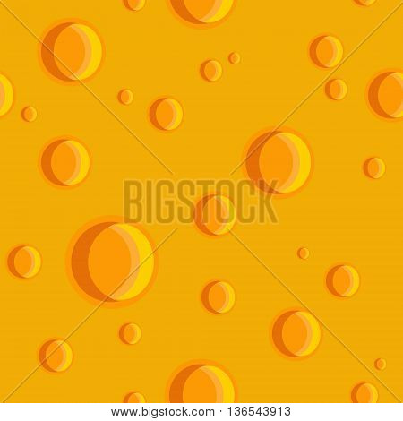 Seamless texture of a cheese with holes