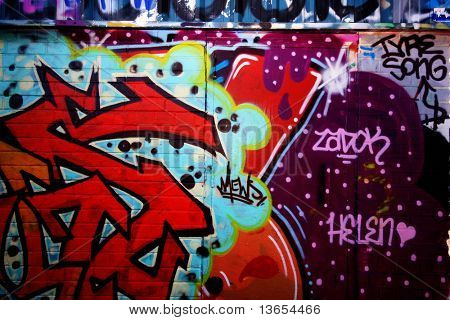 graffiti colour