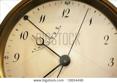 clock face abstract